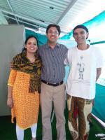 Dr.Nandan Lele & Dr Amruta Lele with student